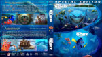 Finding Nemo / Finding Dory Double Feature (2003-2016) R1 Custom Blu-Ray Cover & label