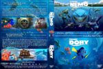 Finding Nemo / Finding Dory Double Feature (2003-2016) R1 Custom Cover