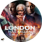 London Has Fallen (2016) R1 Custom Label
