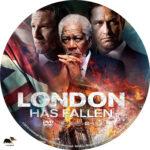 London Has Fallen (2016) R1 Custom Label