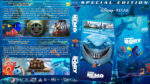 Finding Nemo / Finding Dory Double Feature (2003-2016) R1 Custom Blu-Ray DVD Cover