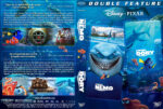 Finding Nemo / Finding Dory Double Feature (2003-2016) R1 Custom DVD Cover & label