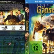 Gänsehaut 3D (2015) R2 German Blu-Ray Cover & labels