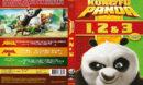 Kung Fu Panda - Samlingsbox - 1, 2 & 3 (2016) R2 DVD Nordic Cover
