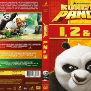 Kung Fu Panda – Samlingsbox – 1, 2 & 3 (2016) R2 DVD Nordic Cover