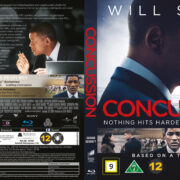 Concussion (2015) R2 Blu-Ray Nordic Cover