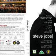 Steve Jobs (2015) R2 Blu-Ray Nordic Cover