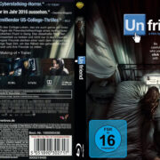 Unfriend (2015) R2 German Custom Blu-Ray Cover & label