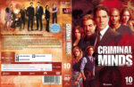 Criminal Minds: Season 10 (2015) R2 German Custom Cover & labels