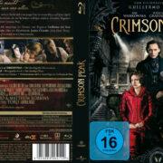 Crimson Peak (2015) R2 German Custom Blu-Ray Cover & label