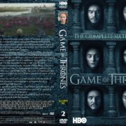 Game Of Thrones: Season 6, Volume 2 (2016) R0 CUSTOM Cover & labels