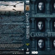 Game Of Thrones: Season 6, Volume 3 (2016) R0 CUSTOM Cover & labels
