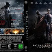 Batman v Superman – Dawn of Justice (2016) R2 GERMAN Custom Cover