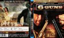 6 Guns ( 2010) R2 German Blu-Ray Cover & Label