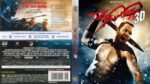 300 Rise Of An Empire 3D (2014) R2 German Blu-Ray Cover & Label