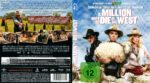 A Million Ways To Die In The West (2014) R2 German Blu-Ray Cover & Label