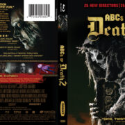 ABCs Of Death 2 (2014) R1 Blu-Ray Cover & Label