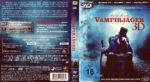 Abraham Lincoln Vampirjäger 3D (2012) R2 German Blu-Ray Cover & Label