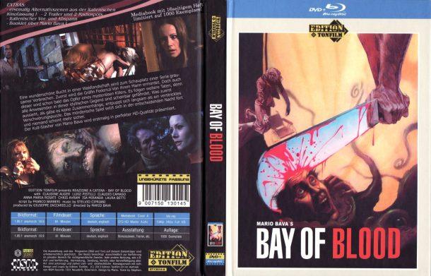 Bay Of Blood (1971) R2 German Mediabook Cover & Labels