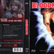 Bloodnight – Intruder (1989) R2 German Blu-Ray Mediabook Cover & Labels