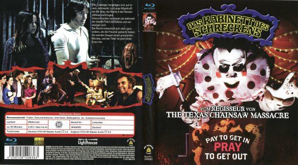 Das Kabinett des Schreckens - The Funhouse (1981) R2 German Blu-Ray Cover & amp; Label