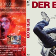 Der Blob (1988) R2 German Blu-Ray Cover & Label
