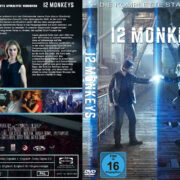 12 Monkeys Staffel 1 (2016) R2 German Custom Cover & labels