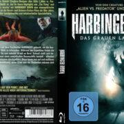 Harbinger Down (2015) R2 German Custom Blu-Ray Cover & label