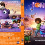 Home (2015) R1 Custom DVD Covers