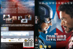 Captain America Civil War (2016) R2 DVD Nordic Cover