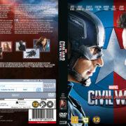 Captain America Civil War (2016) R2 DVD Nordic Cover