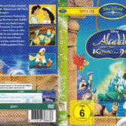 Aladdin 3 und der König der Diebe (1996) R2 German Cover & label
