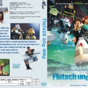 Flutsch und weg (2006) R2 German Custom Cover & labels