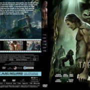 The Legend of Tarzan (2016) R0 CUSTOM Cover & label