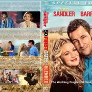 Adam Sandler / Drew Barrymore Triple Feature (1998-2014) R1 Custom Cover