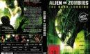 Alien vs Zombies (2010) R2 German Cover & label