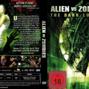 Alien vs Zombies (2010) R2 German Cover & label