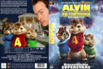 Alvin und die Chipmunks (2007) R2 German Custom Cover & label