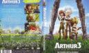 Arthur und die Minimoys 3 (2010) R2 German Cover & Label