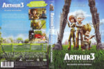 Arthur und die Minimoys 3 (2010) R2 German Cover & Label