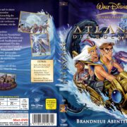 Atlantis 2 Die Rückkehr (2002) R2 German Cover & Label