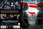 Batman v Superman Dawn of Justice (2016) R2 Custom DVD Czech Cover