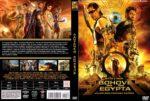 Gods of Egypt (2016) R2 Custom DVD Czech Cover