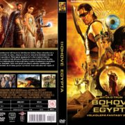 Gods of Egypt (2016) R2 Custom DVD Czech Cover