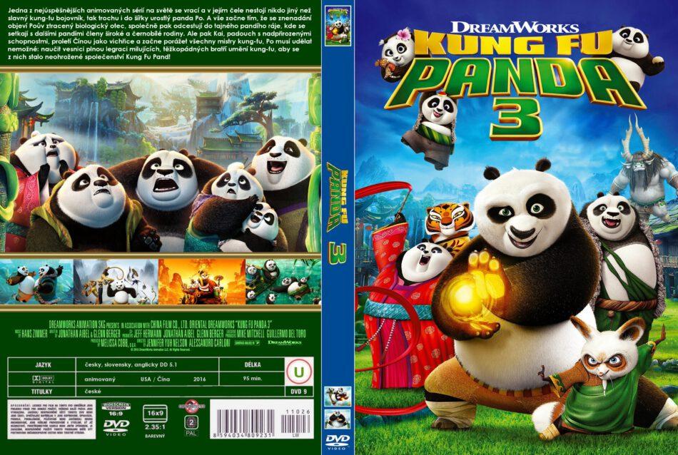 Kung Fu Panda 3 Dvd Cover 2016 R2 Custom Czech