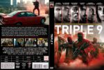 Triple 9 (2016) R2 Custom DVD Czech Cover