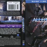 The Divergent Series: Allegiant (2016) R1 Blu-Ray Cover & Labels