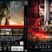 Warcraft (2016) R2 Custom Czech DVD Cover