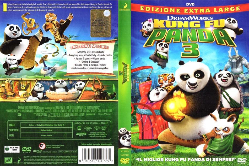 Kung Fu Panda 3 Dvd Cover 2016 R2 Italian
