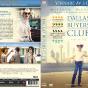 Dallas Buyers (2013) R2 DVD Swedish Cover